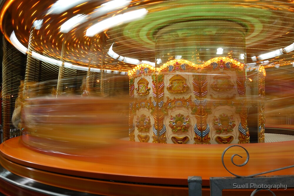 Spinning Carousel by Swell Photography