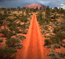 A track leading back... by Keiran Lusk