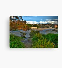 Paintbush - Balmoral Beach - The HDR Experience Canvas Print