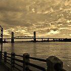 Riverfront At Dusk by Cynthia48