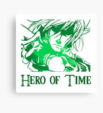 Link - Hero of Time Canvas Print