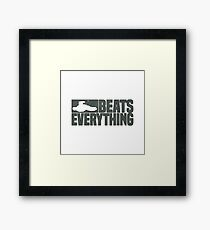 Halo Tank Beats Everything Framed Print