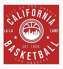 California Los Angeles Basketball Photographic Print
