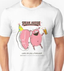 Carry on like a pork chop Unisex T-Shirt