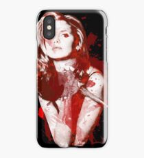 Splatter Buffy iPhone Case