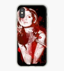 Splatter Buffy iPhone Case