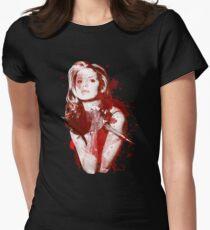 Spritzer Buffy Tailliertes T-Shirt für Frauen