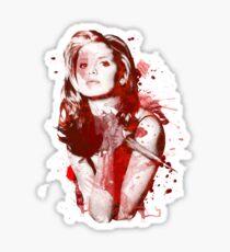 Splatter Buffy Sticker