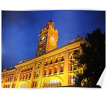 Federation Square - train station Poster