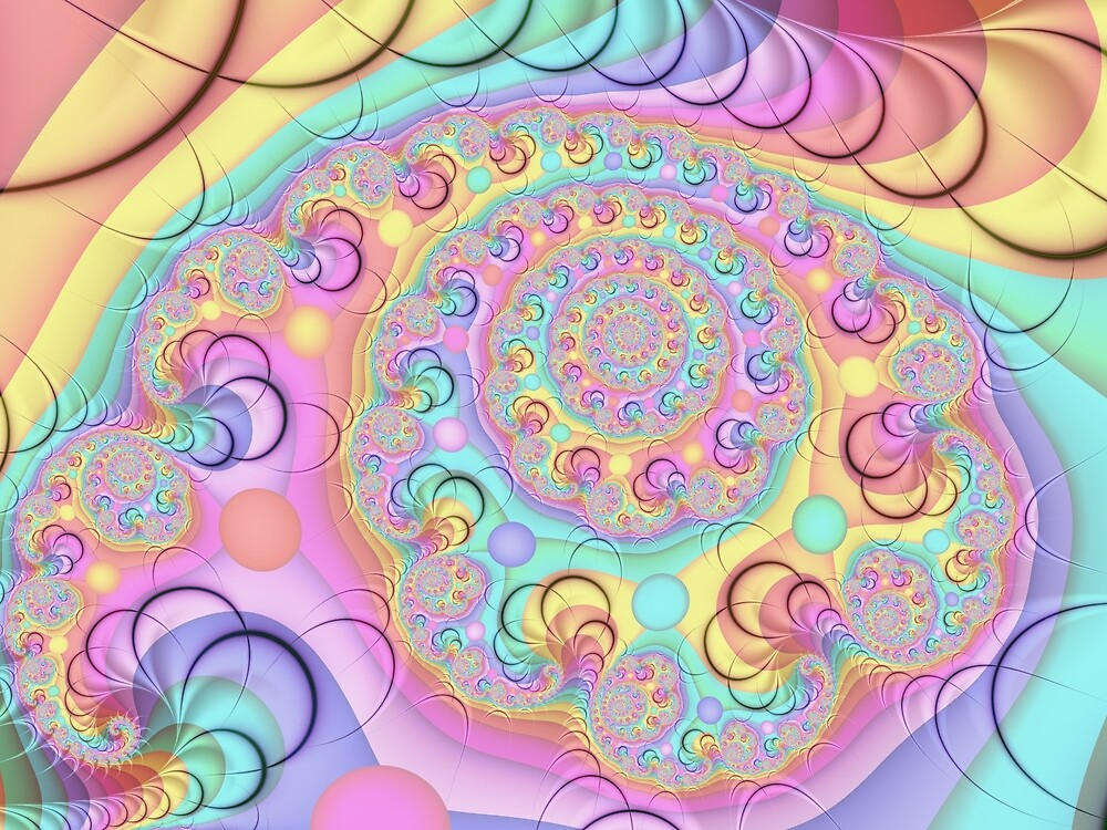 Bubblegum Rainbow by Pam Blackstone