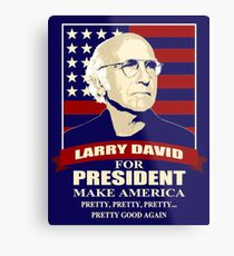 The Best Comedian Series Larry David Metal Print