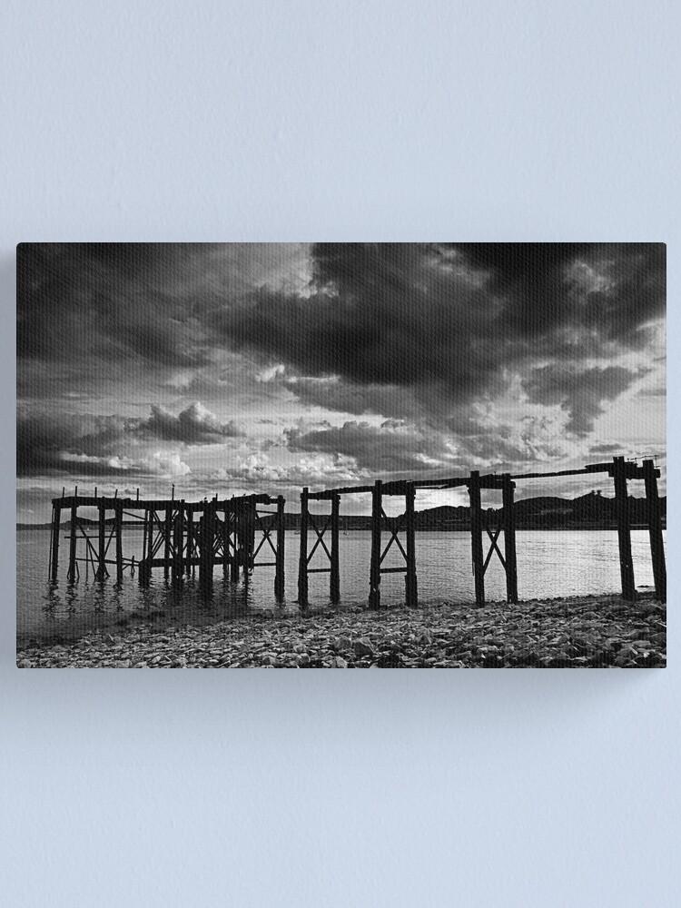 Alternate view of Aberdour Pier Canvas Print