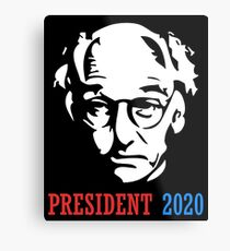 Larry David Has Been Voted For President Of Comedian State Metal Print