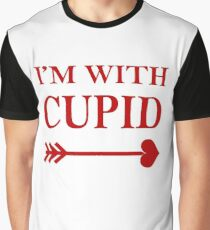 Im With Cupid Graphic T-Shirt