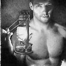 Lantern - the light keeper by David J. Vanderpool
