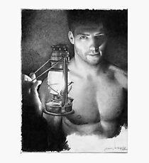 Lantern - the light keeper Photographic Print