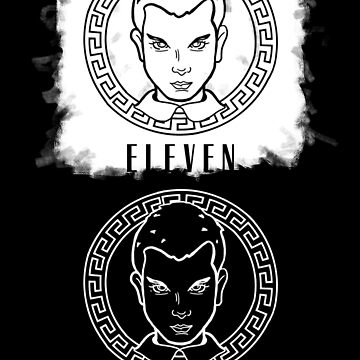 Eleven Stranger things mixed with versace by nathdesign