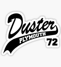 plymouth duster stickers redbubble 1971 Plymouth Duster Red 72 plymouth duster sticker