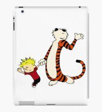 Calvin and Hobbes Dancing Pose iPad Case/Skin