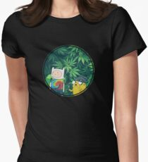 Stoner Time Women's Fitted T-Shirt