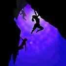 moonlit climbers by mindgoop