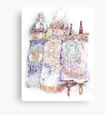 Three Torahs Canvas Print
