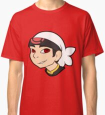 Pokemon Trainer Ruby Bust Classic T-Shirt