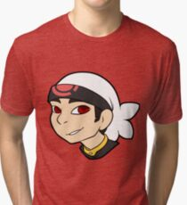 Pokemon Trainer Ruby Bust Tri-blend T-Shirt