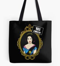 yas kween - broad city meets queen elisabeth 2 Tote Bag