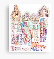 Four Torahs Canvas Print