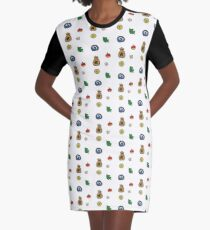animal crossing Graphic T-Shirt Dress