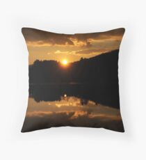 A Second Later Throw Pillow