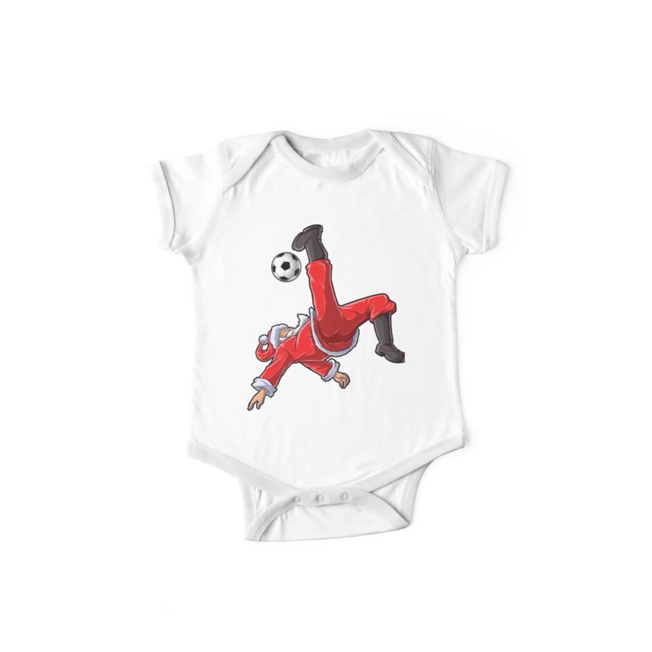 Santa Soccer Shirt Bicycle Kick Santa Claus Funny Xmas Sport Gifts by  LiqueGifts e7453ccb5