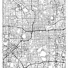 Orlando Map Minimal by HubertRoguski