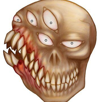 Lotsa teeth (normal) by GrotesqueGuts