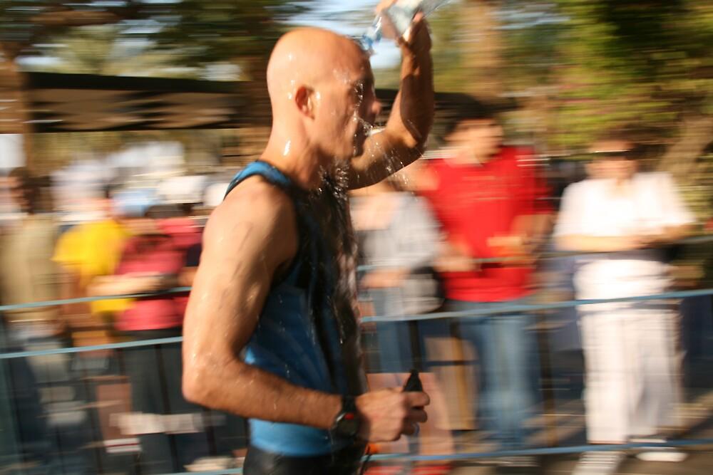 cooling down while runing by Bernard Raskin