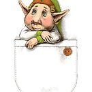 Cute little pocket elf boy by elinakious