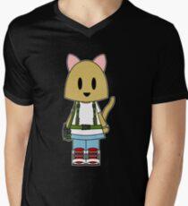 Aliens Cat Ripley Men's V-Neck T-Shirt
