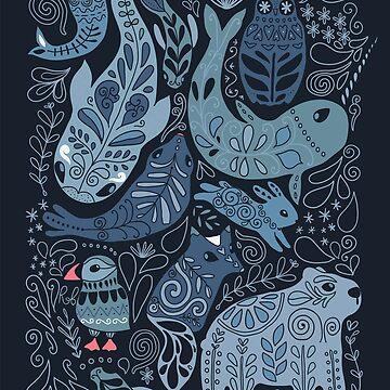 Arctic animals by kostolom3000
