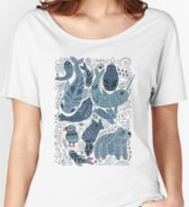 Arctic animals Women's Relaxed Fit T-Shirt