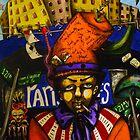 The Mad Hatter Hits Harlem by helene ruiz