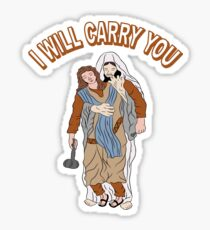 I Will Carry You Jesus Love Gift Sticker