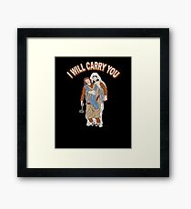 I Will Carry You Jesus Love Gift Framed Print