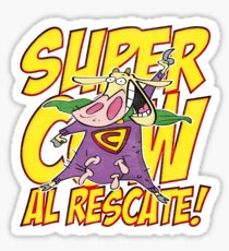 Supercow - Al Rescate! Sticker