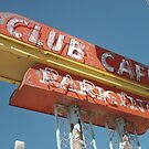 Club Cafe Sign Santa Rosa by Paul Butler