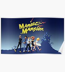 Maniac Mansion #09 Game Cover Poster