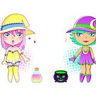 Starshine and Moonglow by ranchi