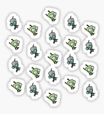 Checkered Gir pattern [Diagonal] Sticker
