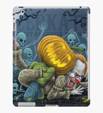 Pumpkin Defeats The Clown iPad Case/Skin