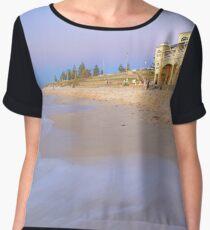 Cottesloe Beach - Western Australia  Chiffon Top
